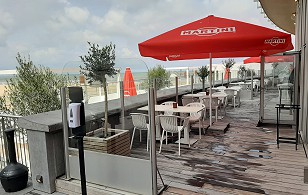 Casino Ostend outdoor furniture