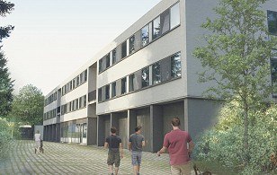 b2b project student housing Mol 48 rooms