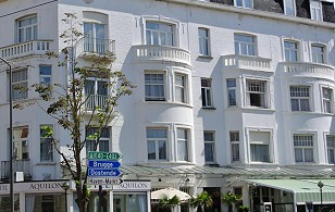 renovation hotel Aquilon into hotel Gatsby Blankenberge
